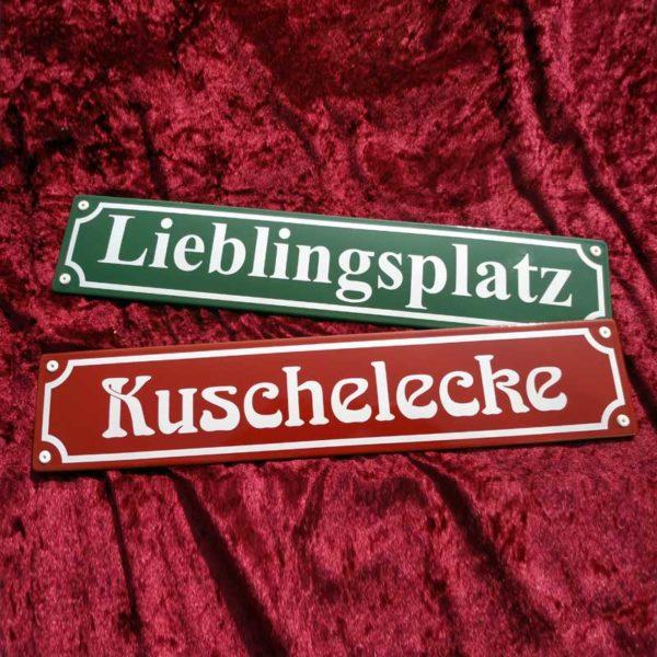 Straßennamenschild